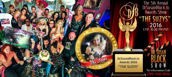 DrSusanBlock TV awards 2016