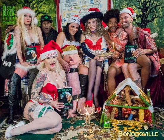 Happy Holidays from Bonoboville! Photo: Jux Lii
