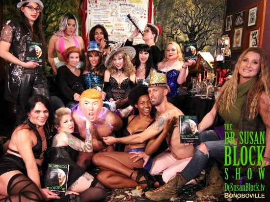 New Year's Eve Class of 2017 LiVE from Bonoboville on DrSuzy.Tv. Photo: Zane Bono