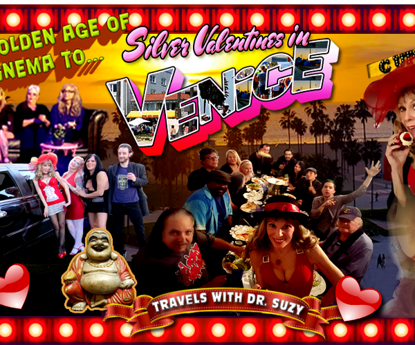"From ""The Golden Age of Adult Cinema"" to Silver Valentines on Venice Beach: A Show Blog & Travelogue of Love ❤"