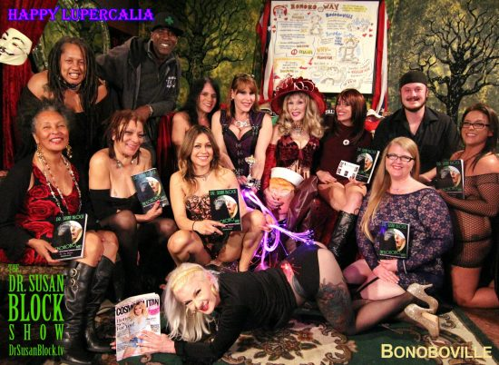 Happy Lupercalia 2017 from Bonoboville. Photo: Abe Bonobo