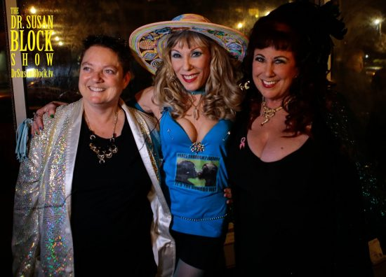 Drs. Beth Stephens. Susan Block & Annie Sprinkle. Photo: B Natural