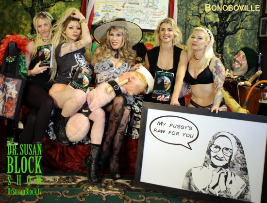 Shannon St. James, Amor Hilton, Dr. Susan Block, Sara Lurie, Gypsy Bonobo, Howard Teman. Photo B Natural