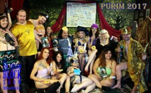 Porny Purim 2017 in Bonoboville!