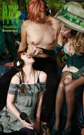 Dedeker Gets Waterbaorded, Bonoboville-Style. Photo: Tim Nguyen
