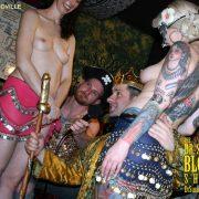 Esther & Gpysy entertain Haman & the King