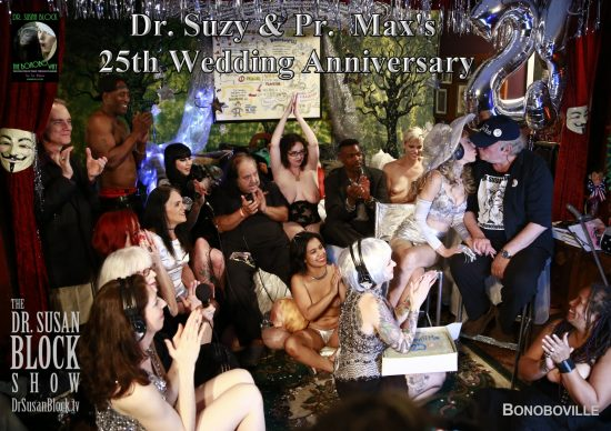 Dr. Suzy & Pr. Max's Silver Anniversary. Photo: TN