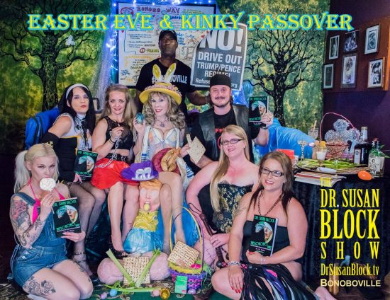 Easter Eve & Kinky Passover in Bonoboville. Photo: Jux Lii