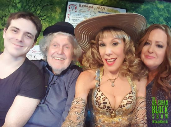 Derek Wilder, John Clark, Dr. Suzy, Janelle Hopkins. Photo: Selfie