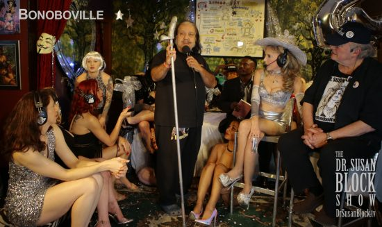 The Mayor of Bonoboville gives a speech. Photo: B Natural
