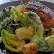 Salmon Fit for a Caesar