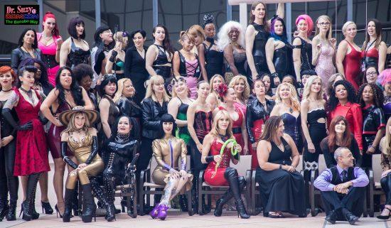 Mistresses of DomCon 2017. Photo: Jux Lii
