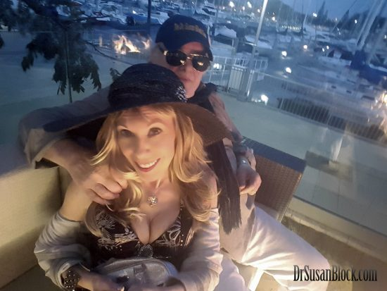 Silver Honeymoon in Marina Del Rey Hotel. Selfie