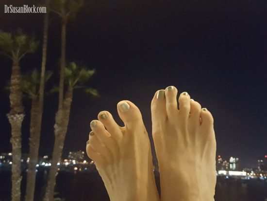 Silver Toes in the Moonlight.