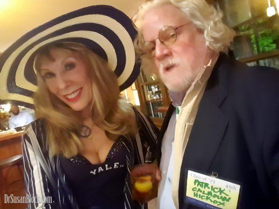 With Patrick Calhoun Hickox, descendant of John Calhoun. Photo: Selfie
