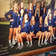 2014 Yale Women's Volleyball champs of the Ivy League