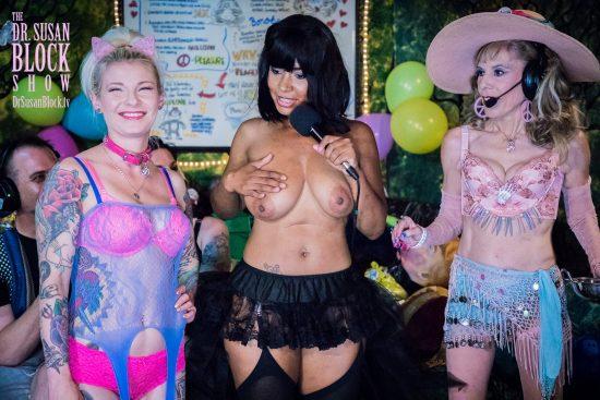 Tamura reveals Ethel & Lucille. Photo: Jux Lii