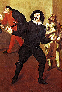 Scaramouche, the Commedia dell'Arte clown.