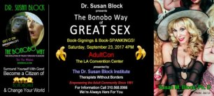 Dr. Susan Block to present The Bonobo Way of Great Sex at ADULTCON 2017