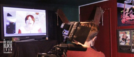 UPRM Professor Linda Rodriguez on DrSuzy.Tv. Photo: Clemmy Cockatoo