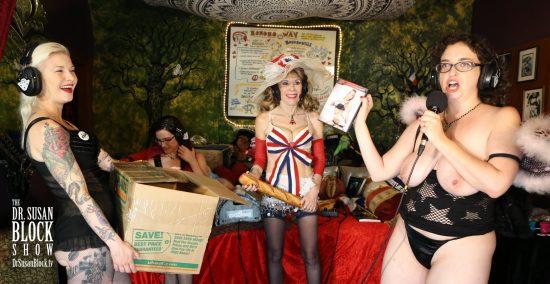 Rhiannon Aarons, the Porno Fairy of Bonoboville. Photo: Jun Tao