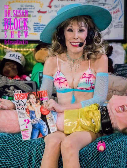 Post-Trump Sex Disorder in Cosmo with Miley on the cover! Photo: Jux Lii
