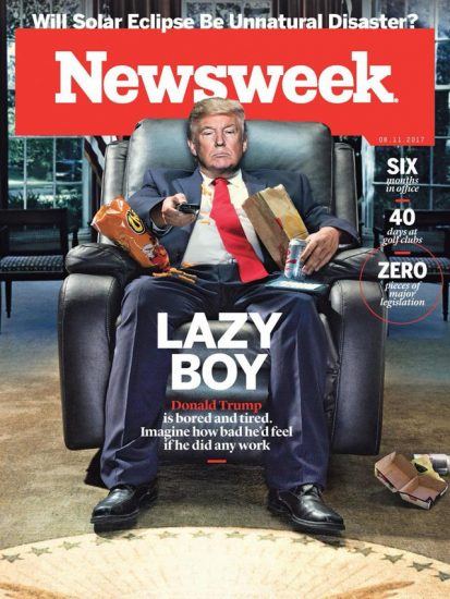 Trump-is-LAzy