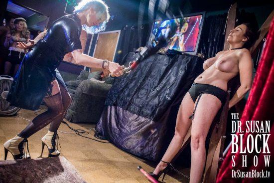 Goddess Soma whips up some magic on Antoinette. Photo: Jux Lii