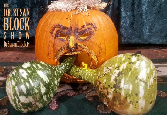 Gourdy & Gourdy, Jr. double-face-bang Trumpkin.. Photo: Author