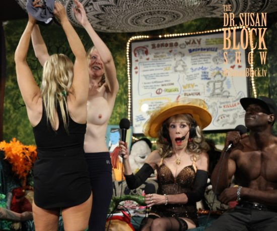 Stripping Sally Mullins. Photo: Slick Rick
