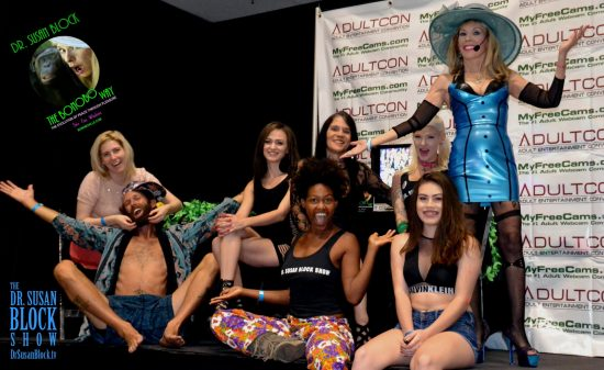 The Commedia Erotica Bonoboville Players do Adultcon! Photo: Christine Dupree