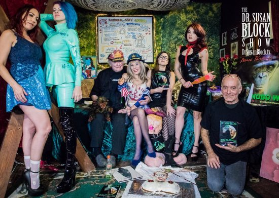 Antoinette, Goddess Soma Snakeoil, Capt'n Max, Dr. Suzy, Rayna, Onyx Muse, Jacob. Photo: Jux Lii