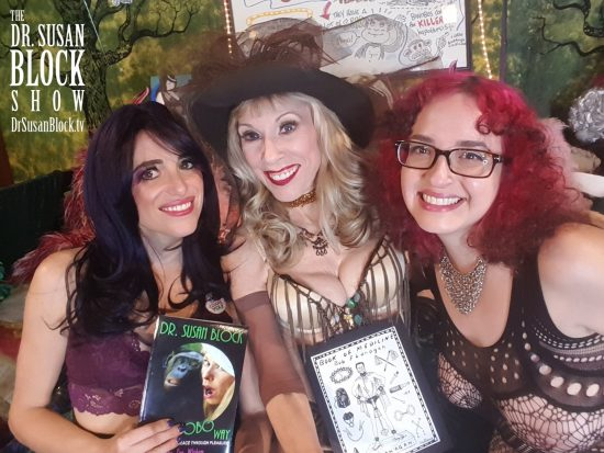 With Spanksgiving Milfs, the Bonobo Way & the Book of Medicine. Photo: Selfie