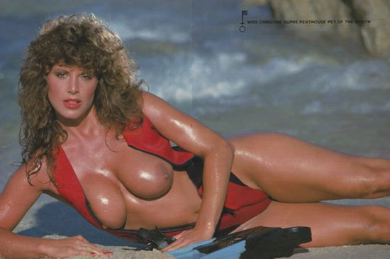 Christine Dupree in Penthouse, September, 1985