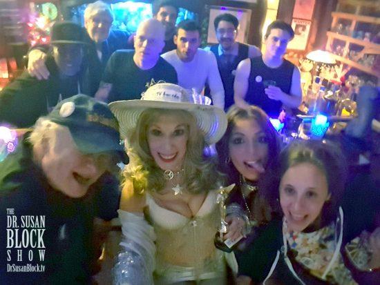 Speakeasy Bar Group Selfie
