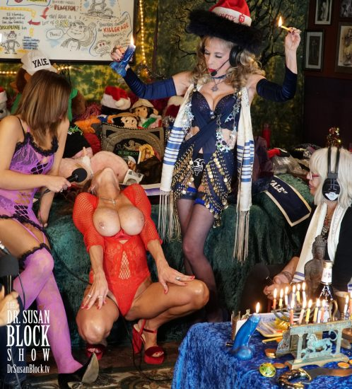 Hanukka Hot Wax, a Bonoboville Tradition. Photo: Russell Thomas