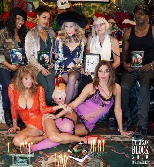 Hanukkah 2017 in Bonoboville. Photo: Russell Thomas