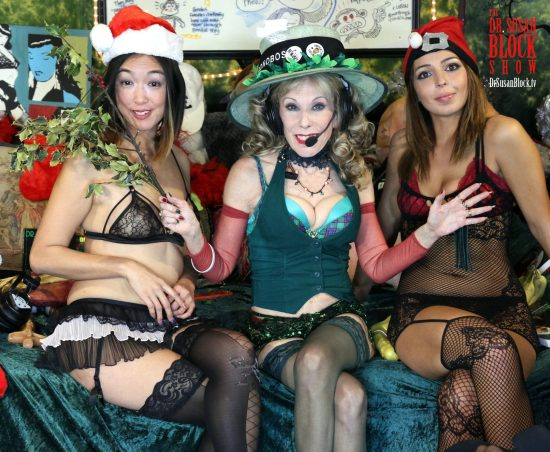 Charmed Bitches of Bonoboville... with Mistletoe! Photo: Slick Rick