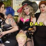 """Dominatrixes Against Donald Trump"" (D.A.D.) Puts Out the ""Fire and Fury"" with Golden Global Downpour on DrSuzy-Tv!"