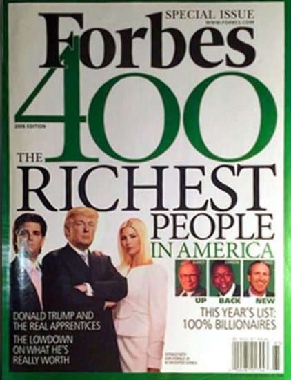 The Forbes issue that Stormy used to spank the Trumpus.