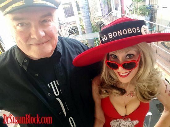 Valentines in Bonoboville. Selfie