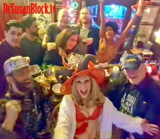 Lupercalia 2018: Speakeasy Bar in Bonoboville Selfie.