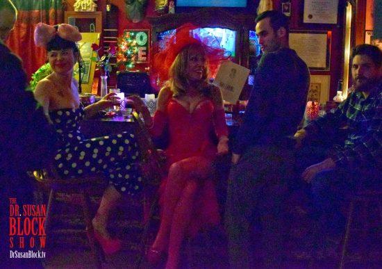 Valentine Kinksters at the Speakeasy Bar. Photo: Gaby de Leon