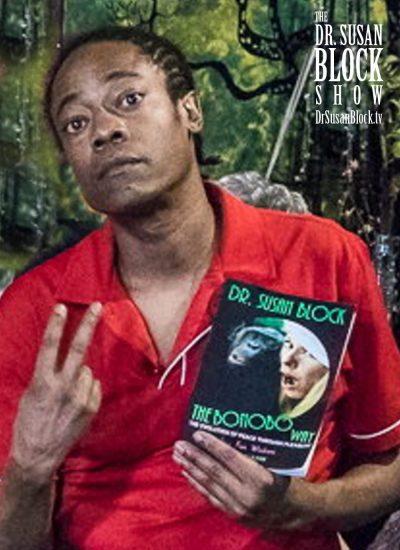Lamar gets The Bonobo Way. Photo: Jux Lii