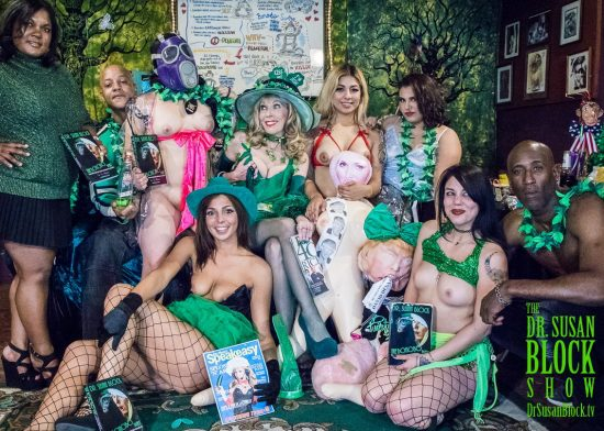 St Paddy's Free the Nipple! Photo: Jux Lii