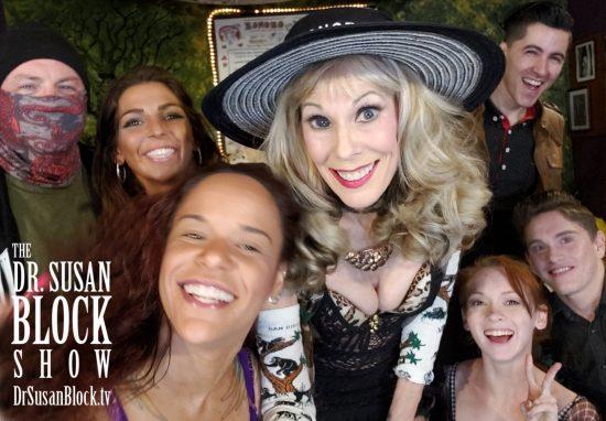 Pre-Show Selfie with Plastic Jesus, Phoenix Dawn, Diamond, Athena Rayne, Xavior Steele & Abe Bonobo