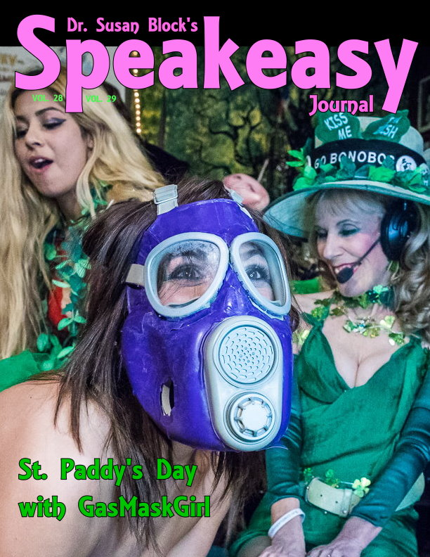 St. Paddy's Day, the Bonobo Way, with GasMaskGirl