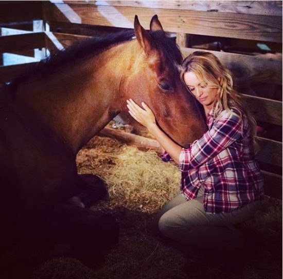 Stormy and Her Horse.