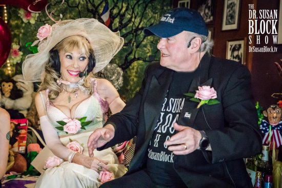 Admiring My Dapper Captain as He Tells Stories to Bonoboville on Our 26th Wedding Anniversary. Photo: Jux Lii