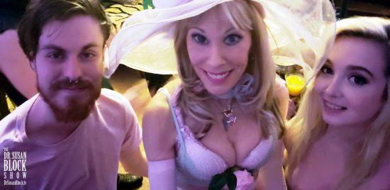 With Virginians (Not Virgins), Bryan Jameson & Lexi Lore. Photo: Selfie